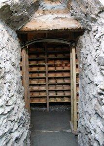passage dans la cave à fromages